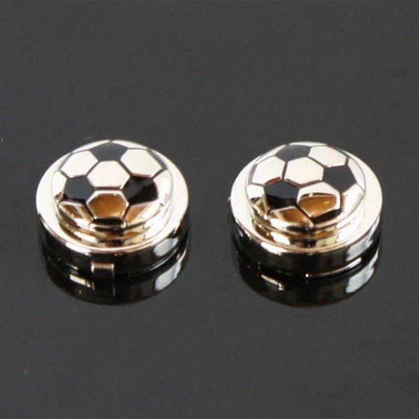 画像1: サッカーボールボタンカバー (1)