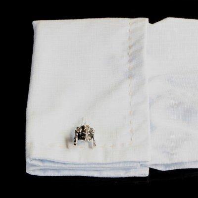 画像3: ジャケットカフスボタン(カフリンクス)