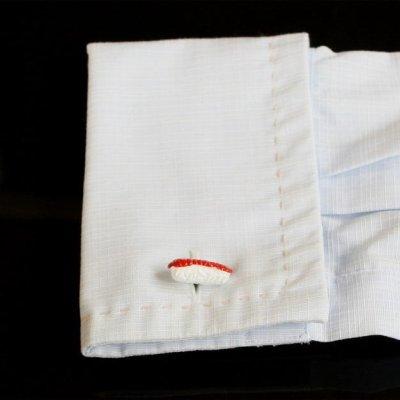 画像3: マグロ寿司カフスボタン(カフリンクス)