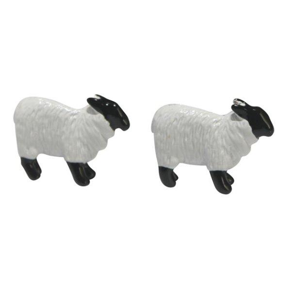 画像1: 羊モチーフカフスボタン(カフリンクス) (1)