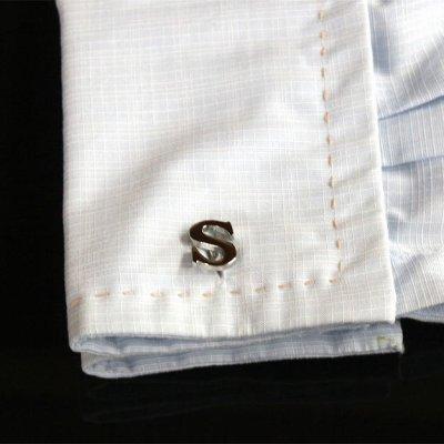 画像3: Sカフスボタン・カフリンクス(バラ売り)