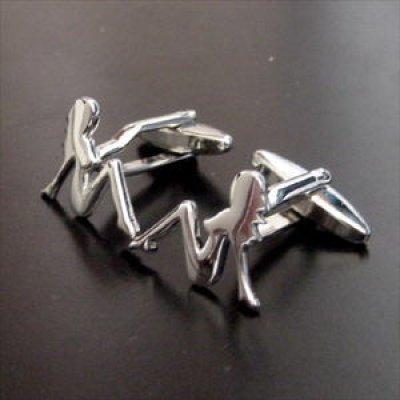 画像2: セクシーガール・カフスボタン(カフリンクス)