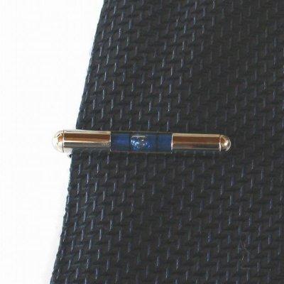 画像3: 水準器(青) ネクタイピン(タイバー)