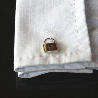 画像3: 鍵&南京錠・カフスボタン(カフリンクス)