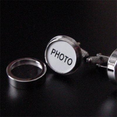 画像1: 写真入れ・カフスボタン(カフリンクス)