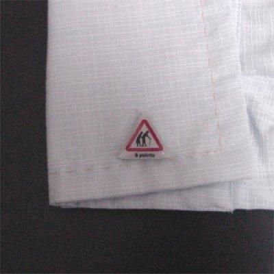 画像3: 警告2カフスボタン(カフリンクス)