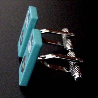 画像2: ライトブルーiPod nanoカフスボタン(カフリンクス)