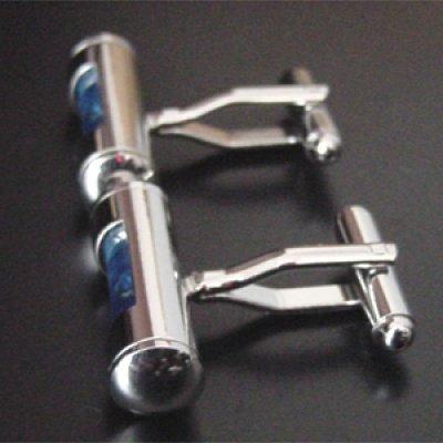 画像2: 水準器(青)・カフスボタン(カフリンクス)