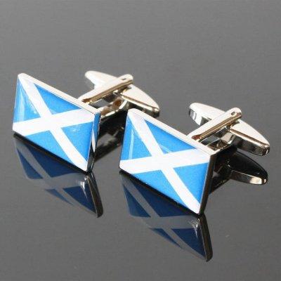 画像1: スコットランド 聖アンドリュースカフスボタン(カフリンクス)