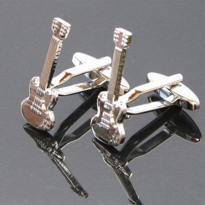 画像1: エレキギターSGスタイルカフスボタン(カフリンクス)