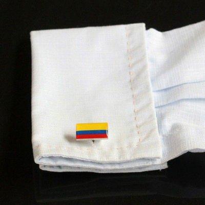 画像3: コロンビア国旗カフスボタン(カフリンクス)