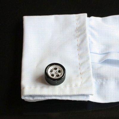 画像3: タイヤホイールカフスボタン(カフリンクス)