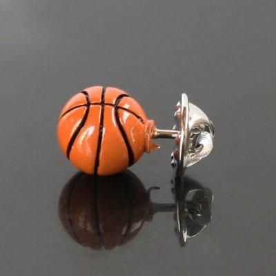 画像2: バスケットボールピンズ(ラペルピン)