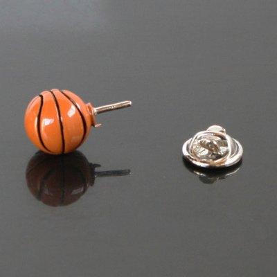 画像3: バスケットボールピンズ(ラペルピン)