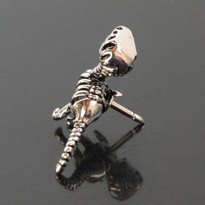 画像2: 恐竜の骨ピンズ