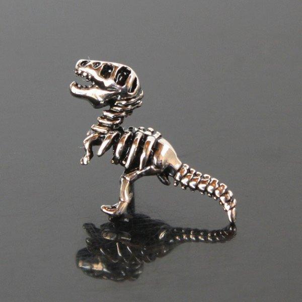 画像1: 恐竜の骨ピンズ (1)