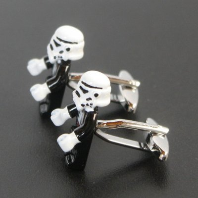 画像2: Star Wars スターウォーズ  ストームルーパー カフスボタン(カフリンクス)
