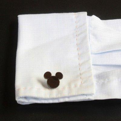 画像3: Disney ディズニー ミッキーマウス&ハンドカフスボタン(カフリンクス)