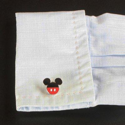 画像3: Disney ディズニー ミッキーマウスパンツカフスボタン(カフリンクス)
