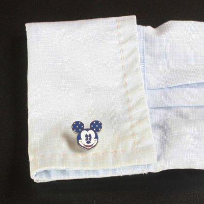 画像3: Disney ディズニー スターミッキーマウスカフスボタン(カフリンクス)