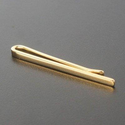 画像1: ゴールドクリップネクタイピン(タイバー)