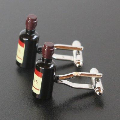 画像2: ワインボトルカフスボタン(カフリンクス)