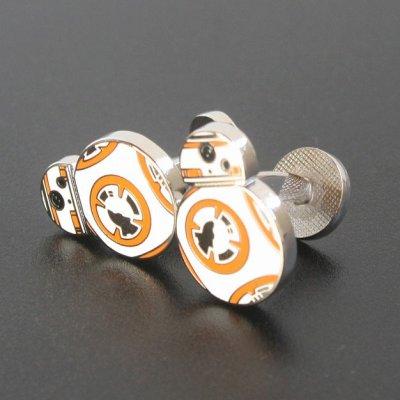 画像1: Star Wars スターウォーズ  BB-8カフスボタン(カフリンクス・カフスボタン)