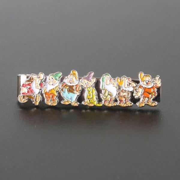 画像1: Disney ディズニー 白雪姫の7人のこびとネクタイピン(タイバー) (1)