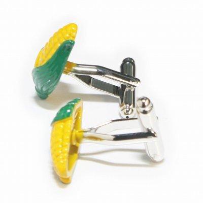 画像2: トウモロコシカフスボタン