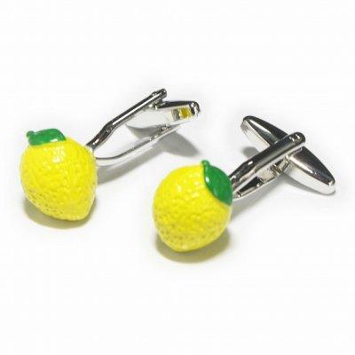 画像1: レモンカフスボタン
