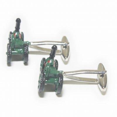 画像2: 牽引車カフスボタン