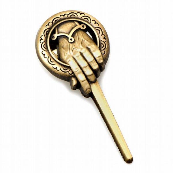 画像1: Game of Thrones ゲームオブスローンズ 王の手ピンズ (1)