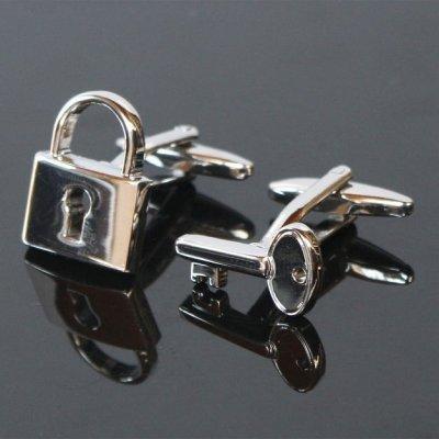 画像1: 鍵&南京錠・カフスボタン(カフリンクス)