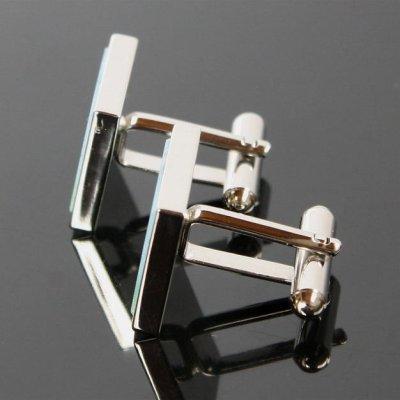 画像2: 3Dオーバーヘッドカフスボタン(カフリンクス)