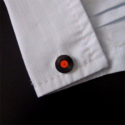 画像3: レコードカフスボタン(カフリンクス)