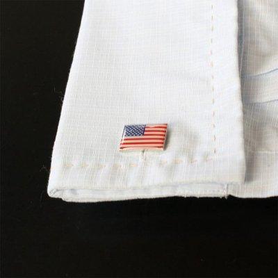 画像3: アメリカ国旗カフスボタン(カフリンクス)