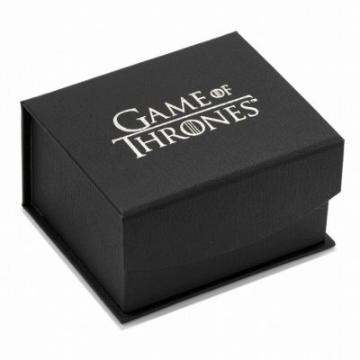 画像3: Game of Thrones ゲームオブスローンズ ターガリエン ウッドインレイネクタイピン
