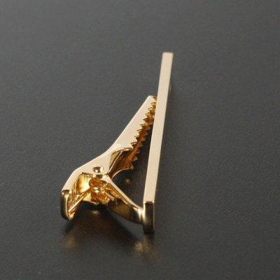 画像1: 1月の誕生石 ゴールドガーネットネクタイピン(タイバー)