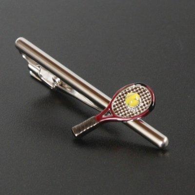 画像1: SWANK スワンク  テニスラケットネクタイピン(カフリンクス・カフスボタン)